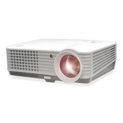 """New Pyle 1080p PRJD901 Widescreen LED Projector upto 140"""" W/ Speakers-USB Reader"""