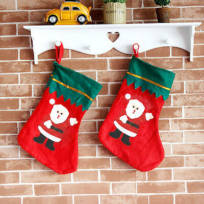 Christmas Gift Santa Claus Snowman Toy Hanging Socks XMAS Tree Decor
