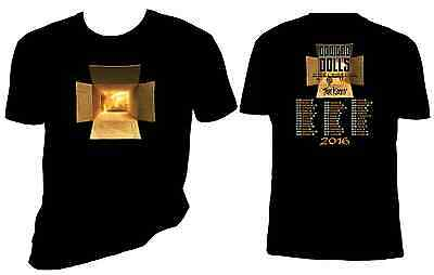 Goo Goo Dolls t shirt, 2016 Concert Tee, 5oz, preshrunk, sizes S-6X