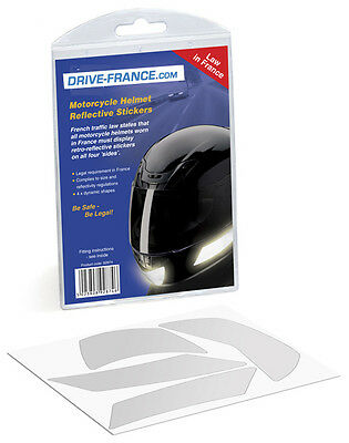 Motorcycle Helmet Reflective Stickers for France