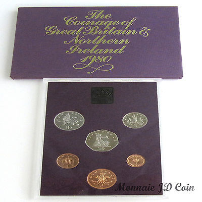 1980 The Coinage of Great Britain & Northern Ireland Original Mint Proof set