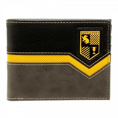 Harry Potter Hufflepuff Crest Bi-fold Wallet NEW! Cursed Child Licensed