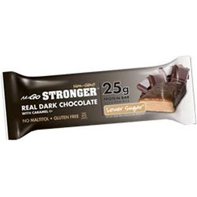 Stronger 25G Protein Bar Lower Sugar Real Dark Chocolate With Caramel Dairy (...