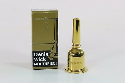 Denis Wick 5L Gold Plated Tuba Mouthpiece QuinnTheEskimo