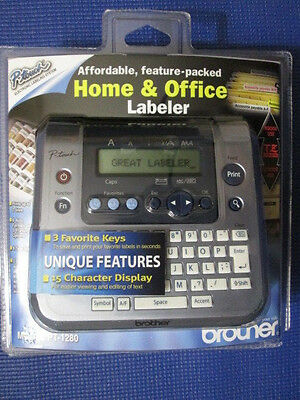 Brother P-Touch Electronic Labeling System PT-1280 Home&Office Labeler Label