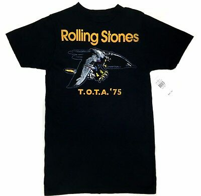 Rolling Stones TOTA TOUR OF THE AMERICAS '75 EAGLE T-Shirt NWT 100% Authentic