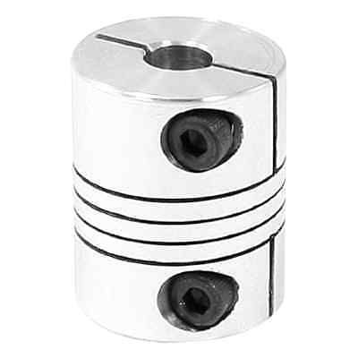 uxcell 6x6.35mm CNC Motor Shaft Coupler 6.35mm to 6mm Flexible Coupling