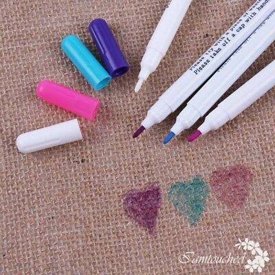 Water Soluble Pen Erasable Cross Stitch Fabric Marker Pen Auto Vanishing Ink DIY