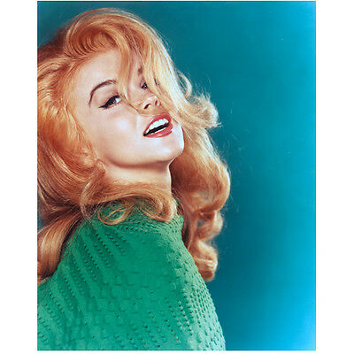 Ann-Margret Posing with Hair Flipped Back in Face 8 x 10 inch photo