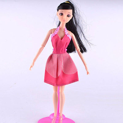 5Pcs Mix Sorts Handmade Party Clothes Fashion Dress For Barbie Doll Best