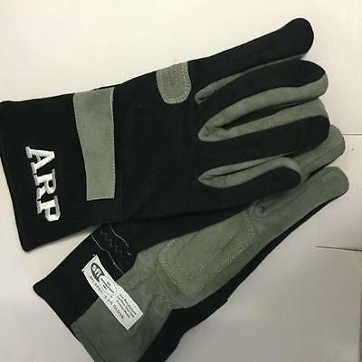 Arp 2 Layer Race Gloves Lge Sfi 3.3/5 Speedway Amca Wingless Drag Motorsport