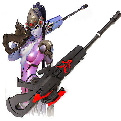 Exclusive Hot Game Widowmaker Cosplay Costume Cos Accessories Props PVC 98cm