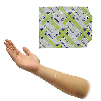 C.M.S Medical Hydrogel Small Burn Scald Relief Pad Sterile Dressing 10x10cm x1