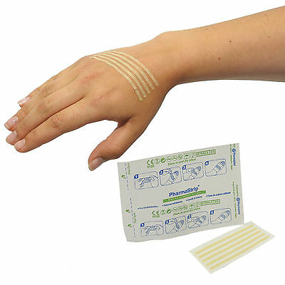 500 Strips (50 Packs) CMS Sterile Adhesive Wound Closure Suture Strips 3x75mm