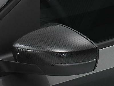 Genuine Volkswagen Polo Carbon Fibre Exterior Mirror Covers