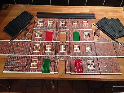 Garden Railway G Gauge 1:24th Scale Terrace row Painted Kit