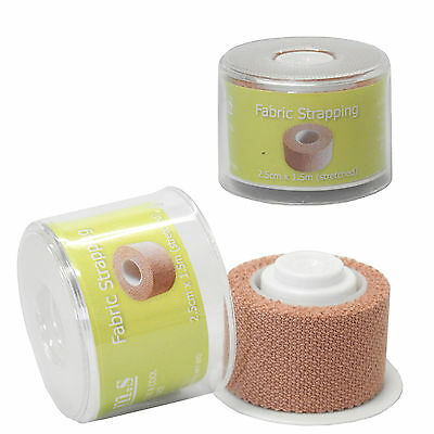 CMS Medical Spool Fabric Plaster Adhesive First Aid Strapping Tape 2.5cm x 1.5m