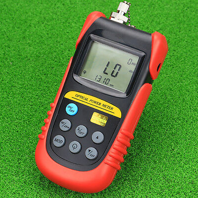 TBM-70A Fiber Optical Power Meter +6~-70 Cable Tester  With Adapter FC and SC