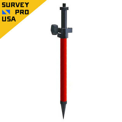 Telescopic Mini Prism Pole w/Precise Tip For Stakeout Total Station Prism Survey