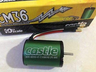 Castle CM36-4600kV 1/10th Scale Brushless Motor Car Buggy SCT Track 1406