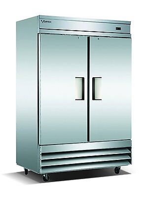 Vortex Refrigeration 2 Solid Door Freezer V-2F