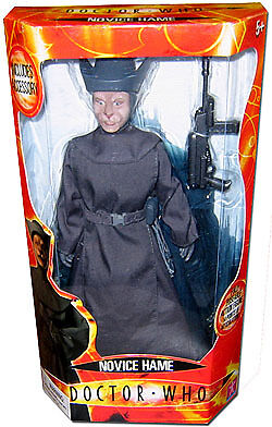 """Doctor Who 12"""" Novice Hame Large Action Figure, New in Box!"""