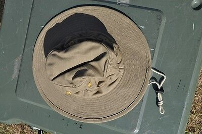 Canadian Forces Boonie Hat Tan Size 7-1/8 Medium NEW