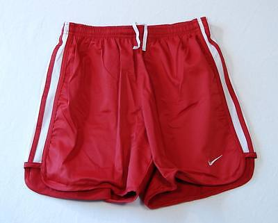 Nike Dri Fit Technetic Red & White Athletic Shorts Youth Girls  NWT