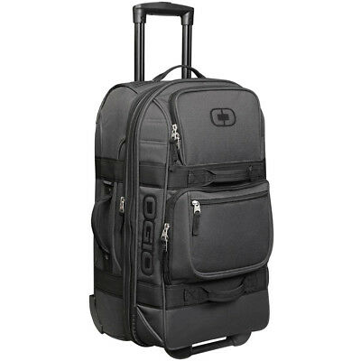 Ogio NEW Mx Layover Black Pindot Carry On Luggage Travel Motocross Gear Bag