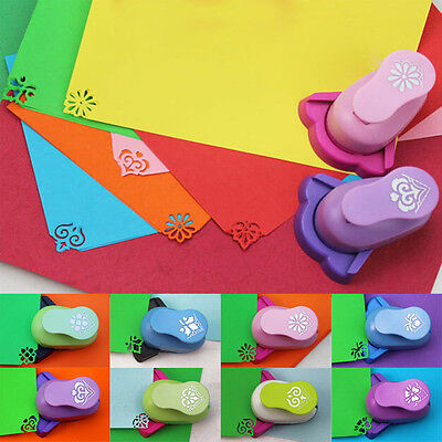 Corner Paper Printing Card Embossing Hole Punch Kids Handmade Craft Gift