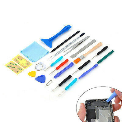 22 in 1 Opens Pry Repair Tools Sucker Tool Kit For Cell Phone Tablet Convenient
