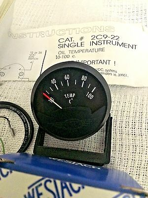 Westach oil or water temp gauge 10 to 100 C TZ250 TZ125 2 inch dial 4JT-83590-01