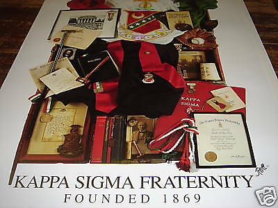 Kappa Sigma Fraternity Collage High Quality Poster-BOGO