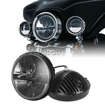 """7"""" LED Projector Daymaker Hi/Lo Headlight For Harley Street Glide FLHX Touring"""
