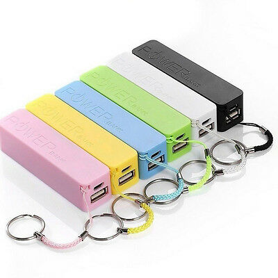 Portable 2600mAh USB External Power Bank Case Pack Box 18650 Battery Charger DIY