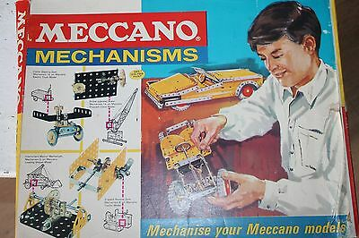 Meccano Mechanisms  * Metallbaukasten  *  Original Meccano * Ovp * 1965