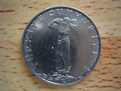 Turkey 1968  25 kurus coin collectable.