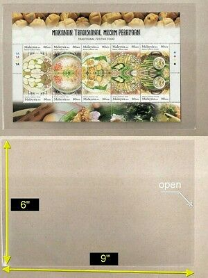"""OPP Plastic Sleeve Size [6"""" x 9""""] suitable for Stamp Ms Banknotes (40 pcs/pack)"""