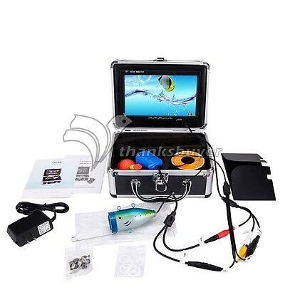 15m HD 1000TVL Underwater Fish Finder System Fishing Video Camera for Breeding