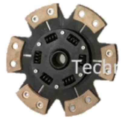 6 Paddle Heavy Duty Clutch Drive Plate For A Subaru Impreza Turbo 5 Speed & Wrx