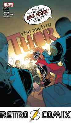 Marvel Mighty Thor #10 First Print New/unread Bagged & Boarded