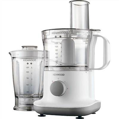 Kenwood FPP220 White 750W 2.1L Multi Pro Food Processor With Blender