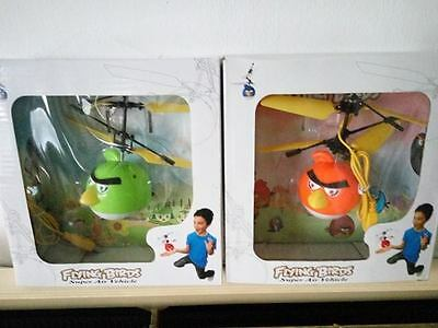 Angry Bird Flying Helicopter Cable Usb Sensor With Lights