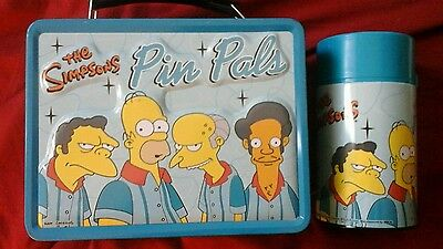 Simpsons  pin pals lunch  box