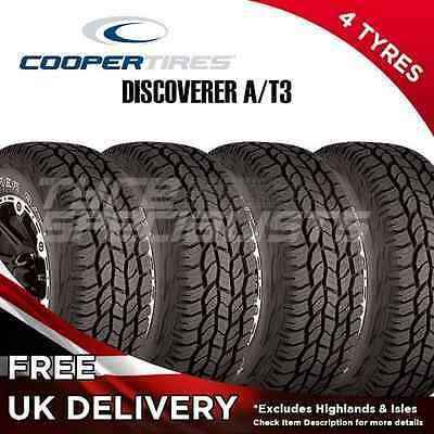 4x NEW 265 75 16 COOPER DISCOVERER A/T3 116T ALL TERRAIN 4X4 (4 TYRES) 265/75R16