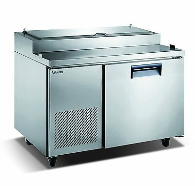 Vortex Refrigeration 1 Door Pizza Prep Table V-44PPT