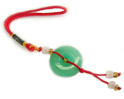 Feng Shui Chinese Jade Coin Charm