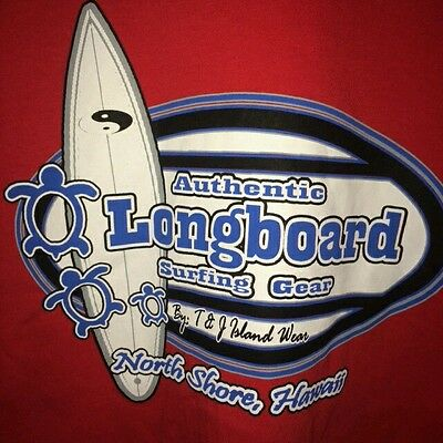 19c5bc1ad7 NORTH SHORE LONGBOARD Surf Competition Novelty ROUND TIN SIGN ...