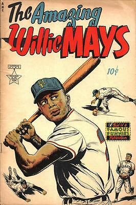 The Amazing Willie Mays #1 Photocopy Comic Book