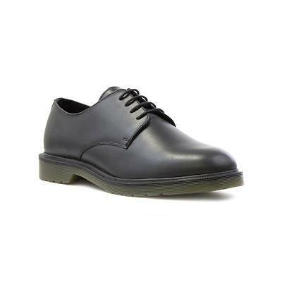 Red Tape Mens Black Leather Lace Up Shoe - Sizes 7,8,9,10,11,12